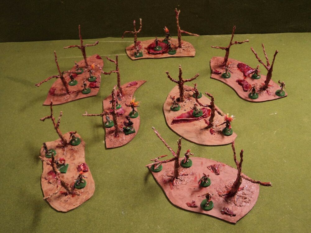 Terrain Flesh Trees For Minature Fantasy Warhammer 40k