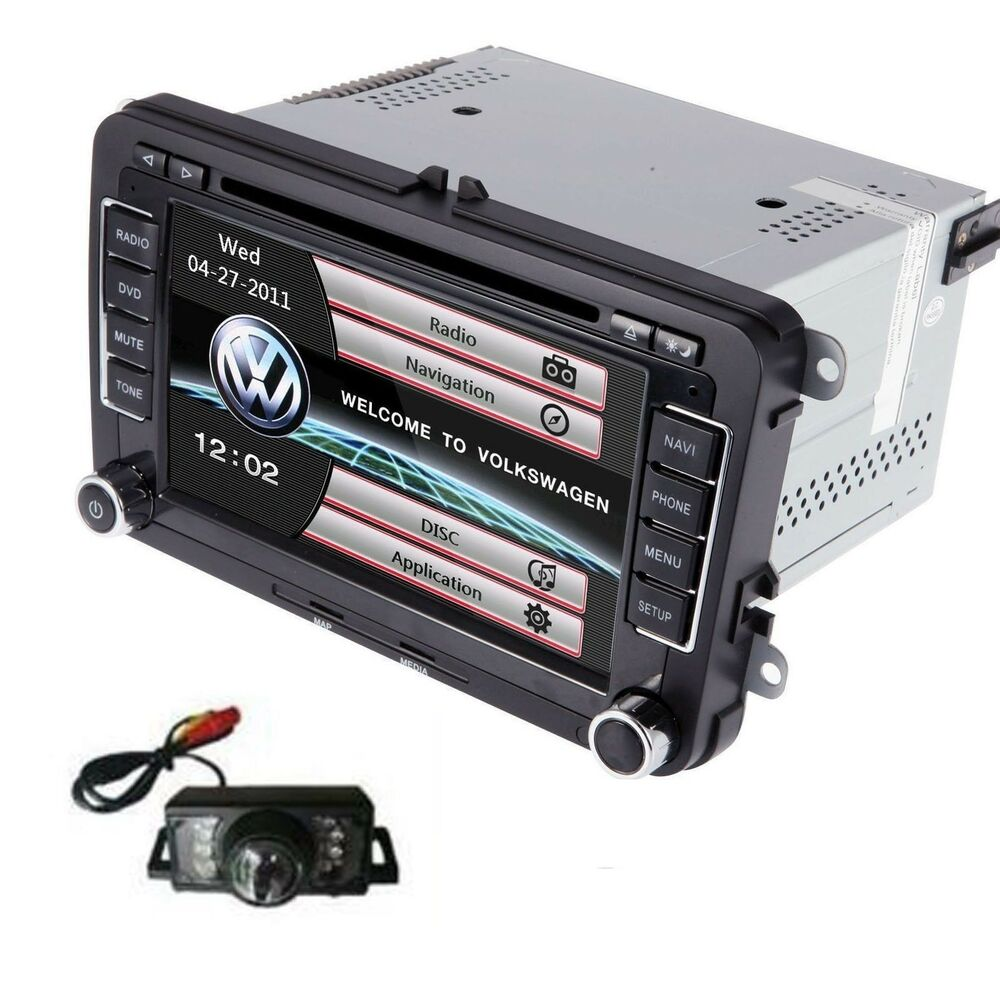 volkswagen vw car stereo dvd gps navigation radio. Black Bedroom Furniture Sets. Home Design Ideas