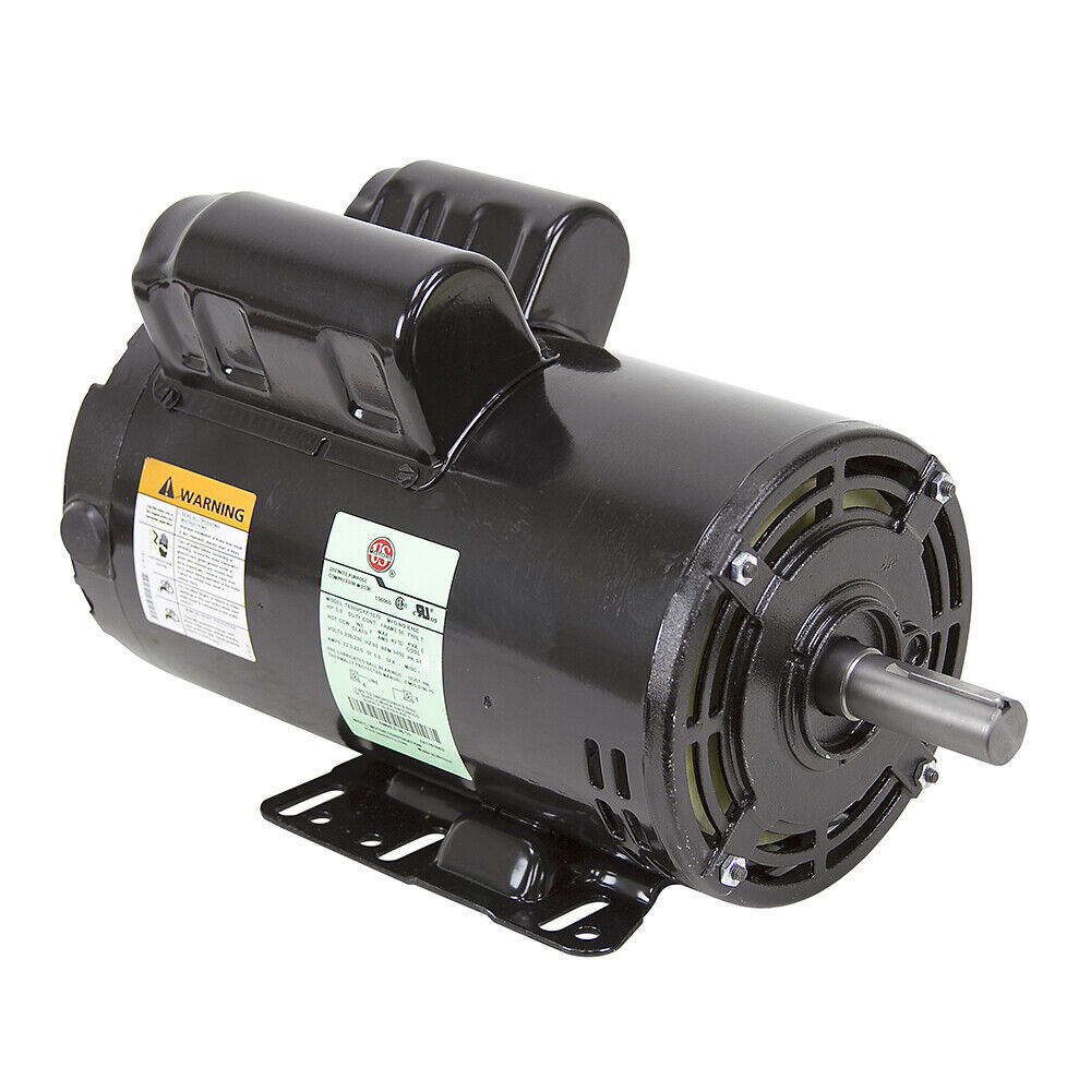 5 Hp 230 Volt Ac 3450 Rpm Us Motors Air Compressor Motor