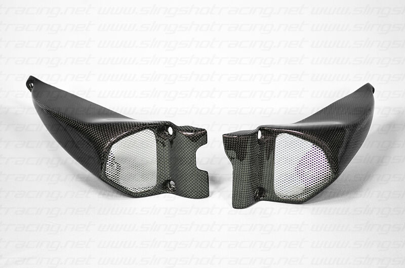 Custom Ram Air Ducts : Ducati streetfighter s performance air intake duct ram