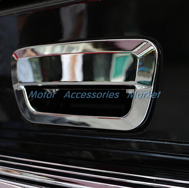 New Chrome Trunk Handle Cover Trim For Jeep Grand Cherokee 2014 2015 2016 2017 Ebay