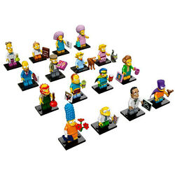 LEGO NEW SIMPSONS 2 MINIFIGURES YOU PICK SERIES MINIFIGS 71009