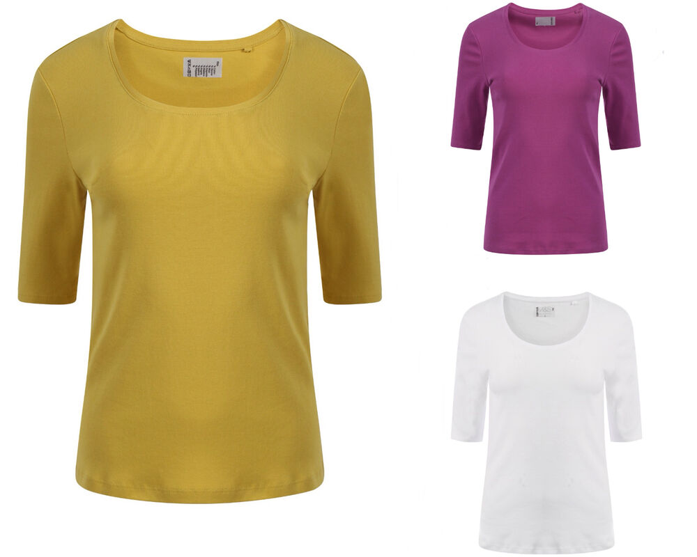 LADIES WOMENS MARKS & SPENCER PURE COTTON SCOOP NECK T ...