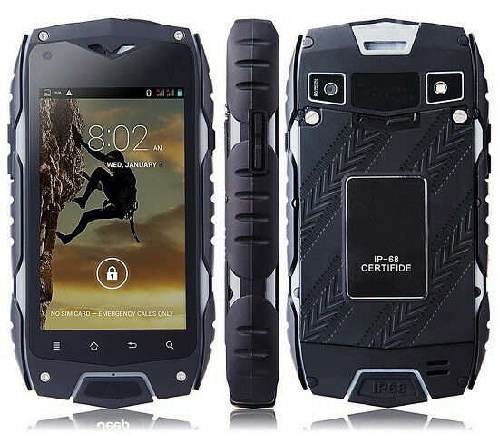 jeep z6 ip68 waterproof mtk6572 4 dual core gps 3g at t straight talk cellphone ebay. Black Bedroom Furniture Sets. Home Design Ideas