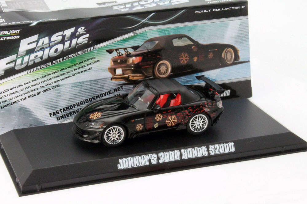 johnny 39 s honda s2000 aus dem film fast and furious 2001 1 43 greenlight ebay. Black Bedroom Furniture Sets. Home Design Ideas
