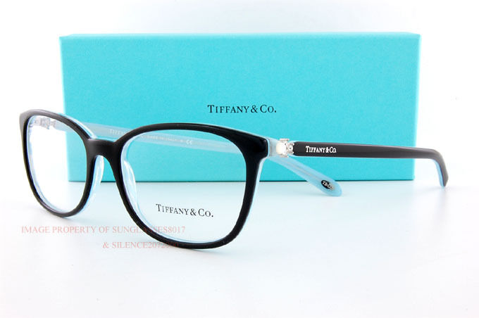 1a1b3c0a0e1 Details about Brand New Tiffany   Co. Eyeglass Frames 2109HB 8193 Black SZ  53 Women