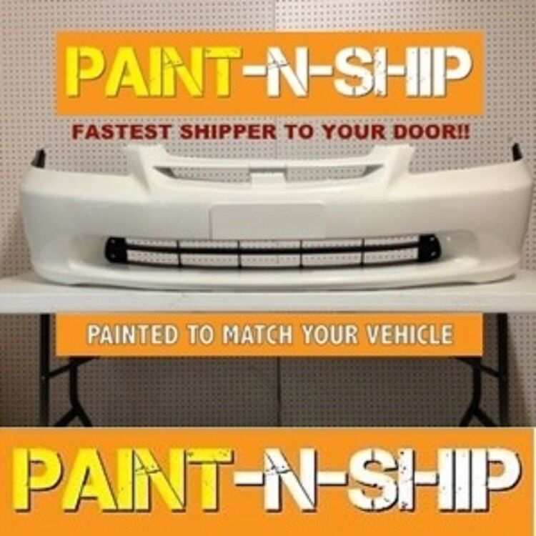 new 1998 1999 2000 honda accord sedan front bumper painted. Black Bedroom Furniture Sets. Home Design Ideas