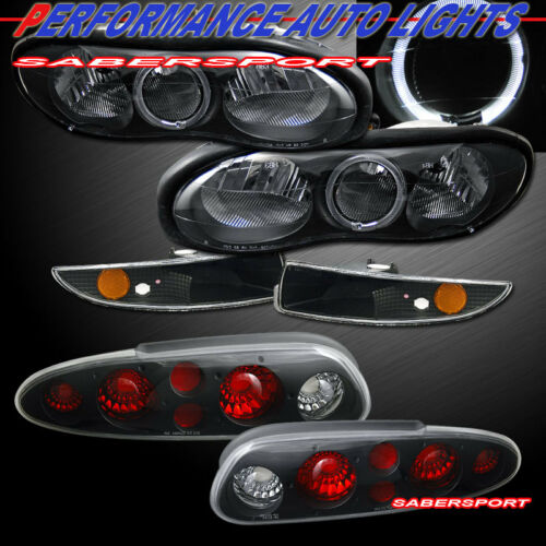 combo-black-halo-headlights-w-bumper-lights-taillights-for-for-9802-camaro