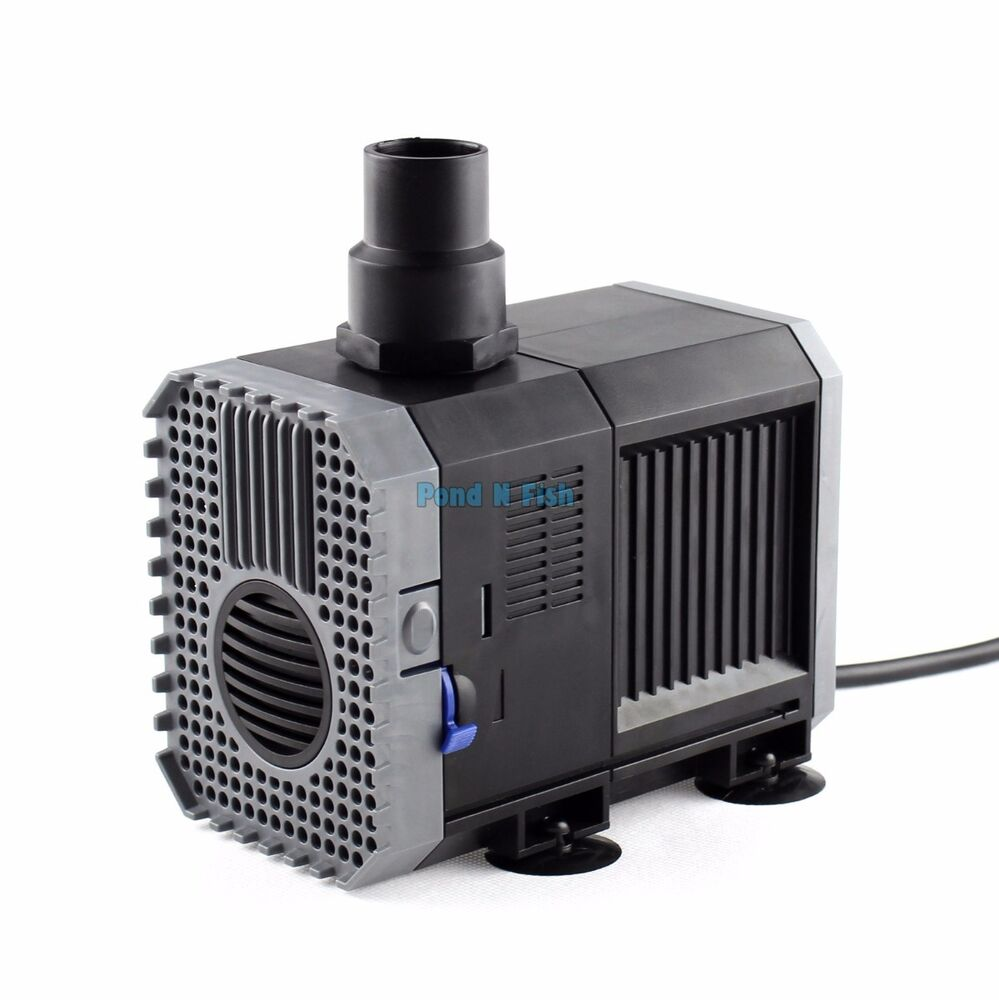 1200 gph submersible water pump aquarium fish tank for Fish water pump