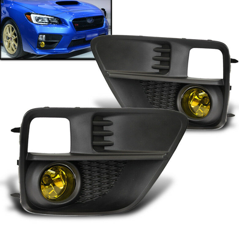 15  16 subaru wrx sti bumper driving fog lights lamps kit