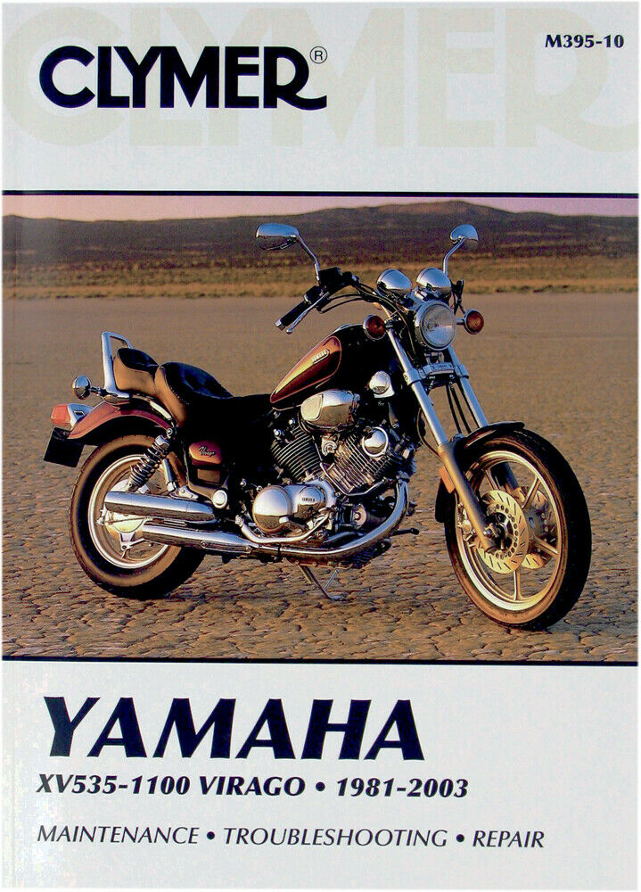 clymer repair manual for yamaha xv535 xv700 xv750 xv920. Black Bedroom Furniture Sets. Home Design Ideas