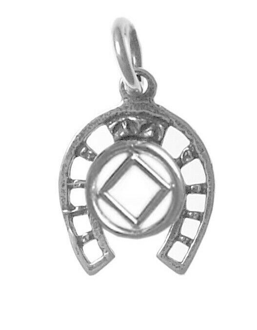 Na Narcotics Anonymous Jewelry Sterling Pend Symbol In A