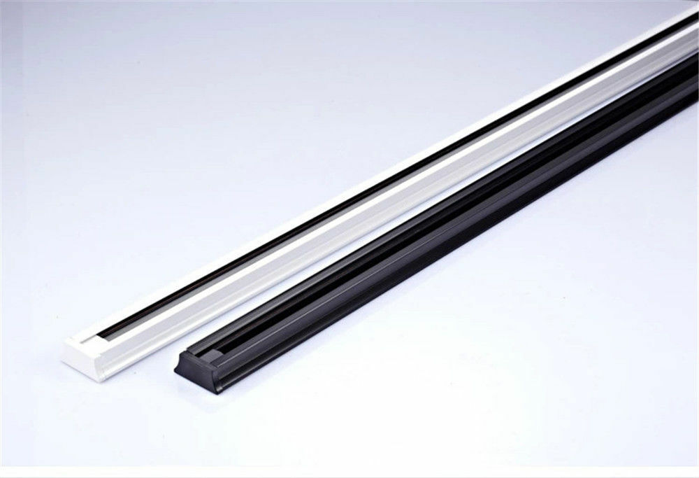 new 50cm 0 5 meter rail track for led rail track light lamp ebay. Black Bedroom Furniture Sets. Home Design Ideas