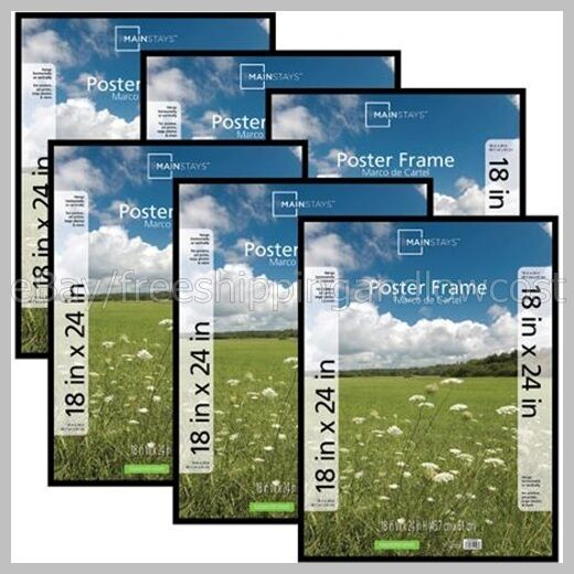 Poster Frame Photo Picture Pocket 18x24 Decor 6Pk Basic ...