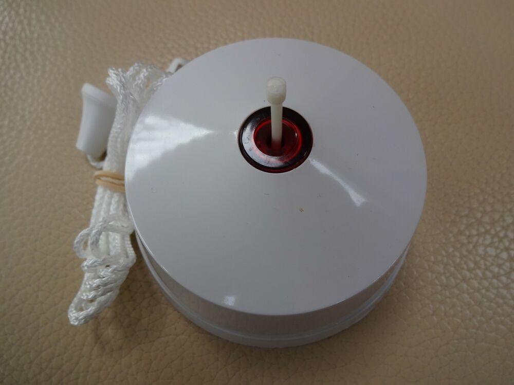 16 Amp Double Pole White Pull Switch Neon Indicator
