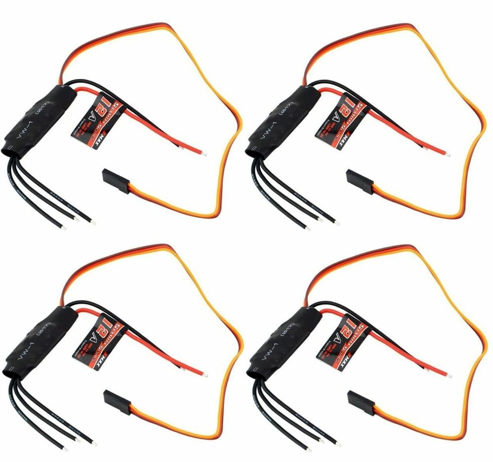 4x Emax    SimonK    12A    Brushless       ESC    Speed Controller For FPV