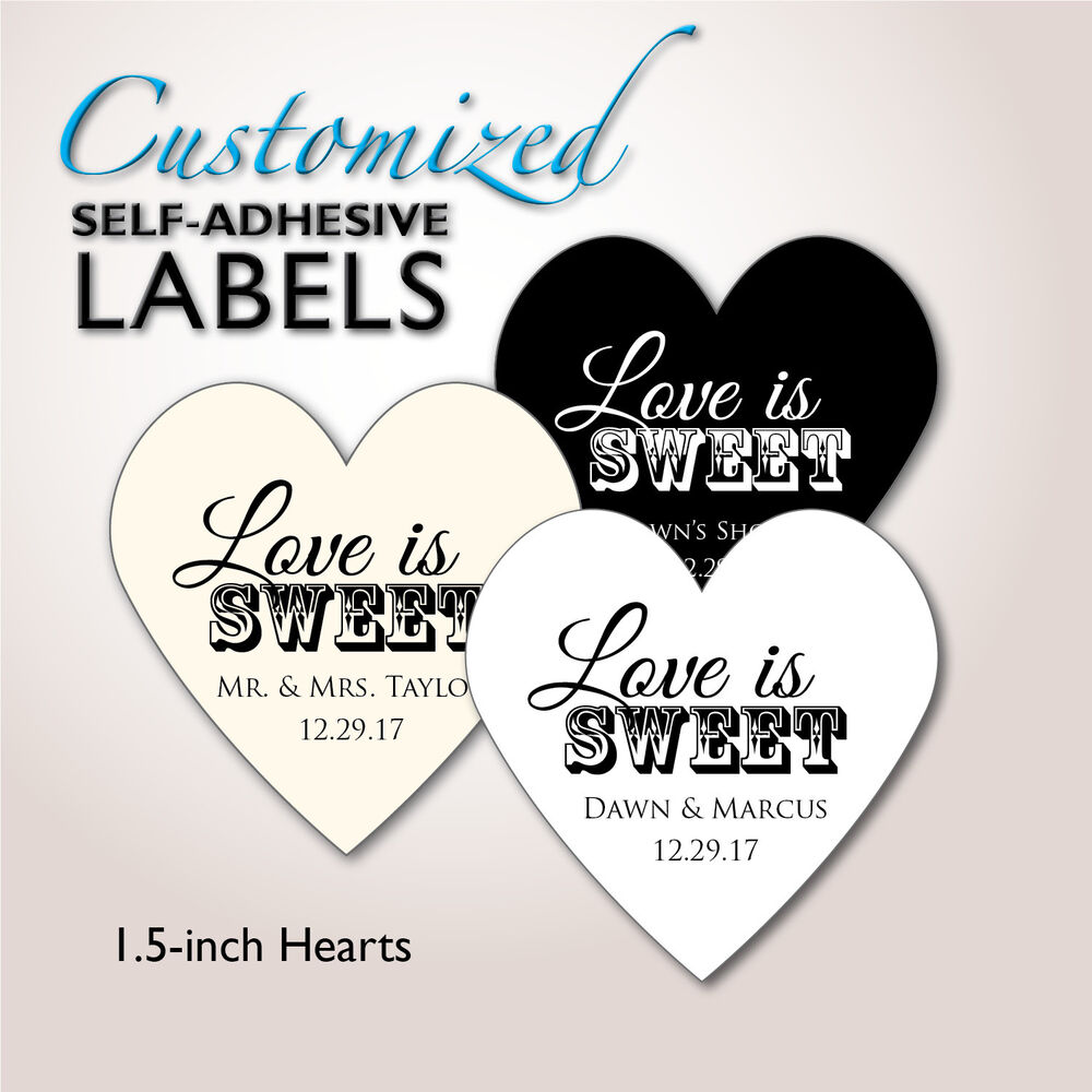 Wedding Favor Bag Labels : ... Stickers, Wedding Favor Labels, Candy Buffet Bag, Cake Box eBay