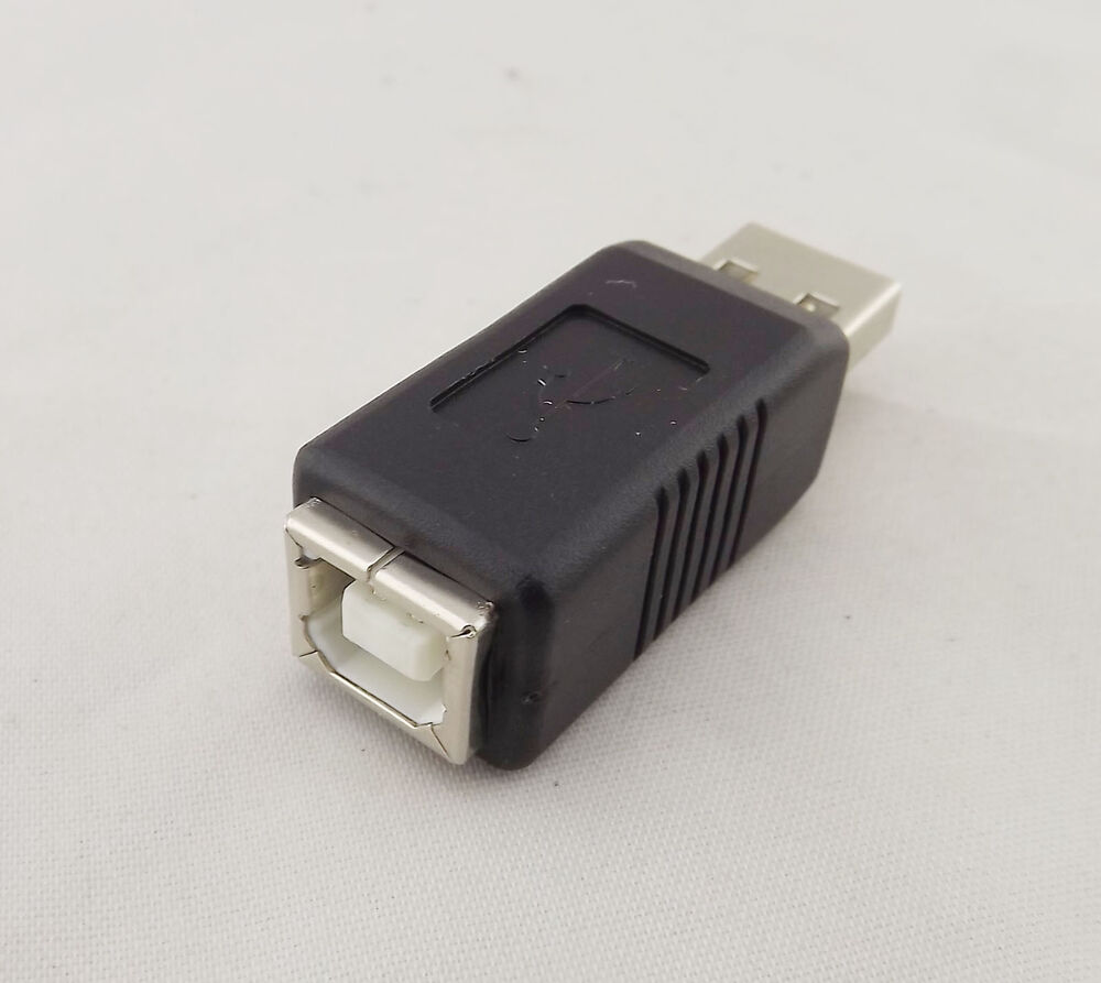 1x usb 2 0 type a male to printer type b female m f converter adapter connector ebay. Black Bedroom Furniture Sets. Home Design Ideas