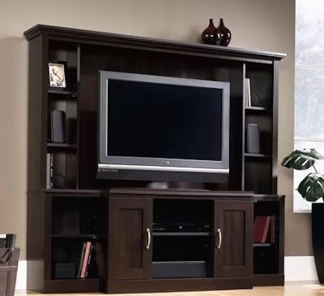 Tv Entertainment Stand Center Cabinet Home Storage