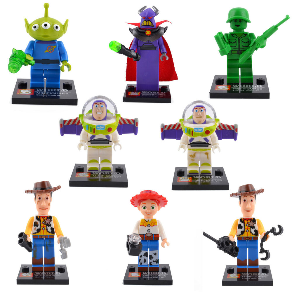 Toy story series jessie woody buzz 8 sets building - Lego toys story ...