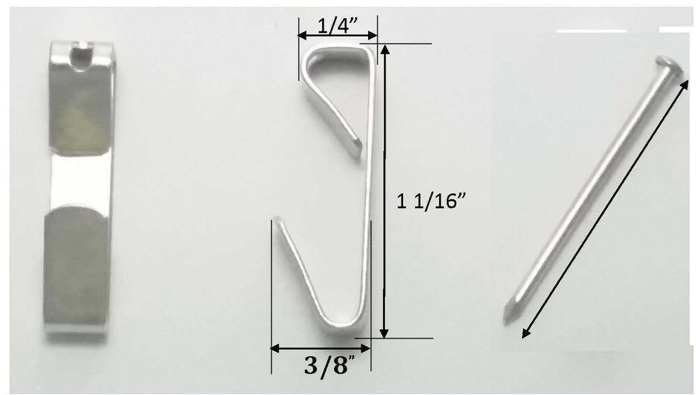 30 lb Wall Picture Hangers Picture Frame Hanger Hooks 50