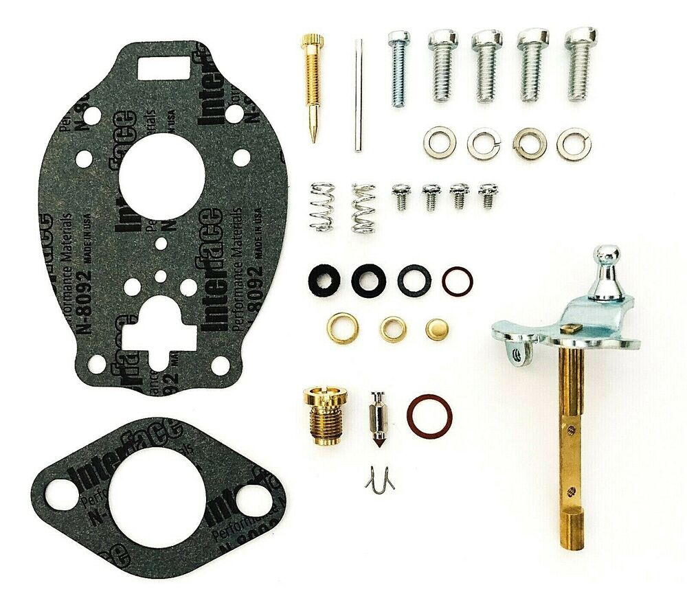 Ford Tractor Carb Kits : Ford tractor carburetor repair kit with shaft fits n