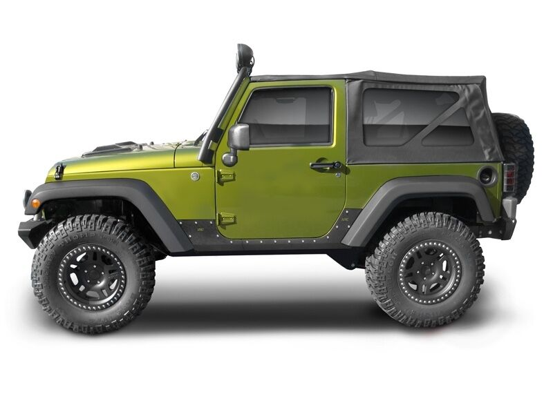 2007 2016 Jeep Wrangler 2 Door Xrc Armor Body Cladding Kit