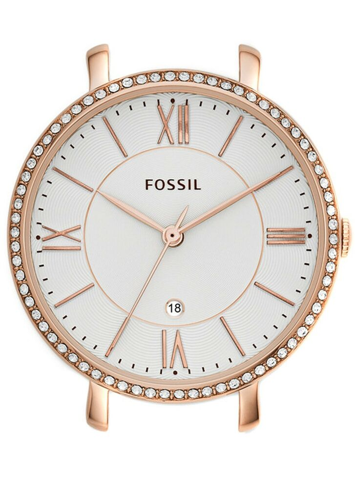 new fossil c141016 three hand date rose gold stainless steel watch 796483179783 ebay. Black Bedroom Furniture Sets. Home Design Ideas