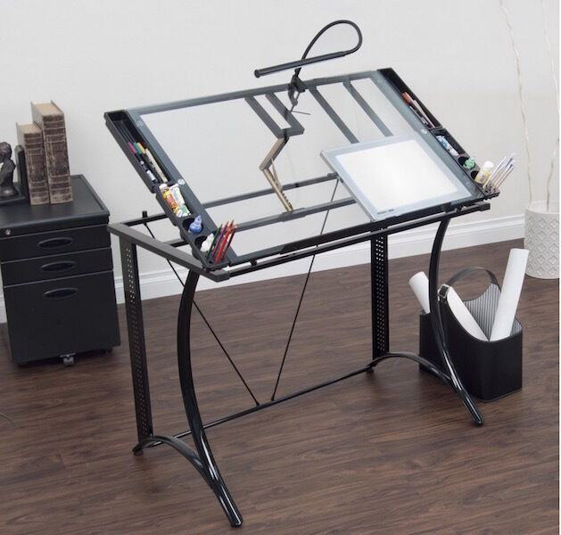 Drafting Craft Desk Table Art Station Office Studio