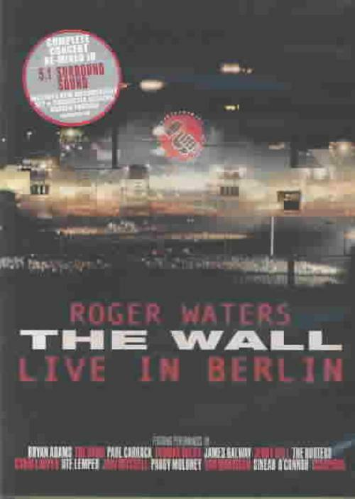 roger waters the wall live in berlin english new dvd 44003843899 ebay. Black Bedroom Furniture Sets. Home Design Ideas