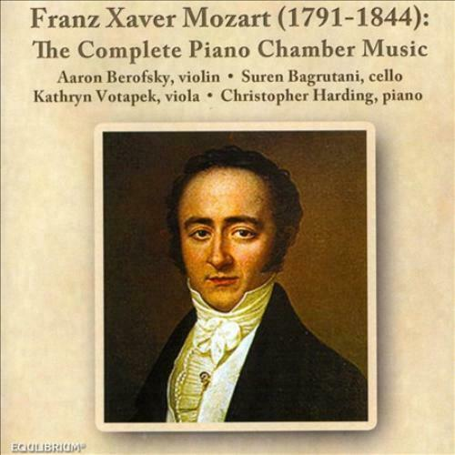 Franz Xaver Mozart: The Complete Piano Chamber Music New ...