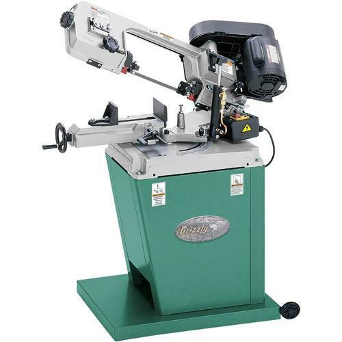G9742 Grizzly 5 Quot X 6 Quot Metal Cutting Bandsaw W Swivel Head