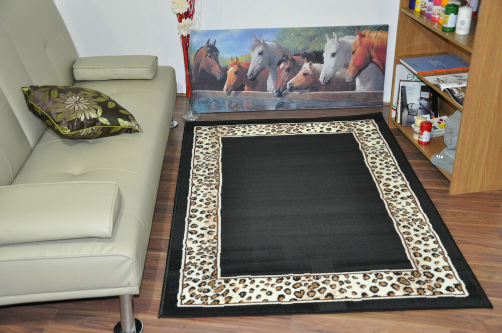New extra large modern soft leopard animal print area rugs for Cheap contemporary area rugs