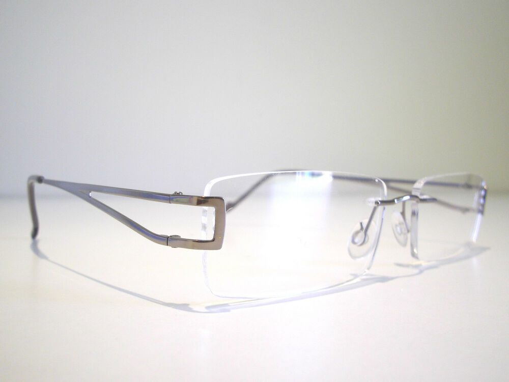 Designer Rimless Eyeglasses : Rimless Ladies Optical Eyeglasses Designer Spectacles For ...