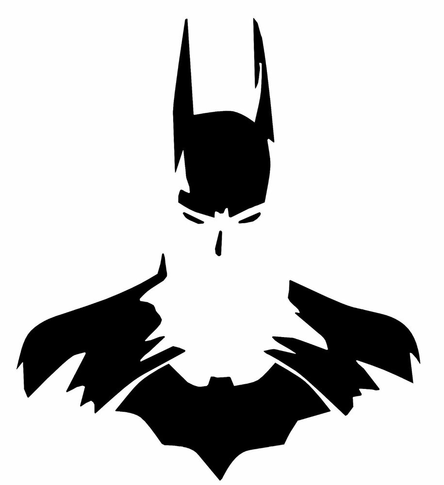 Batman dark knight silhouette vinyl decal oracal dc car truck window sticker ebay