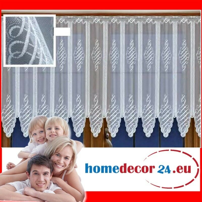 25 cm breite scheibengardine gardine scheibengardinen 60 oder 90 cm hoch ebay. Black Bedroom Furniture Sets. Home Design Ideas