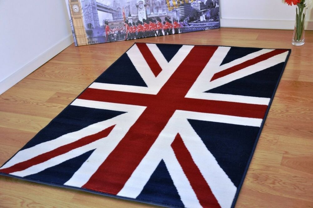 new extra large union jack navy blue modern funky retro. Black Bedroom Furniture Sets. Home Design Ideas