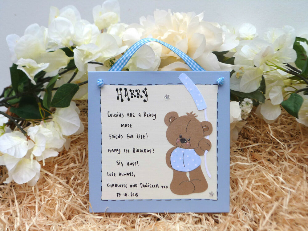 Baby Gifts For Second Boy : G personalised baby girl or boy st nd rd th