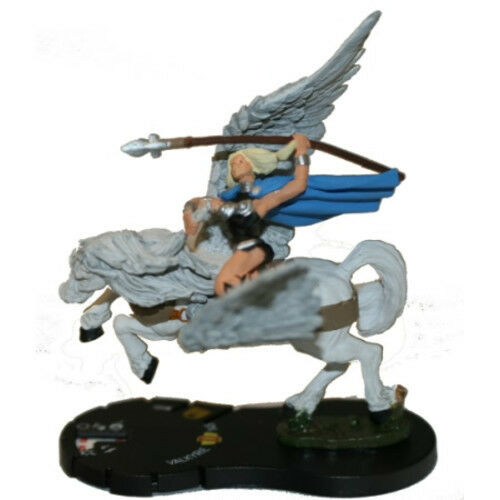 heroclix marvel hammer of thor valkyrie 055 mini w card ebay