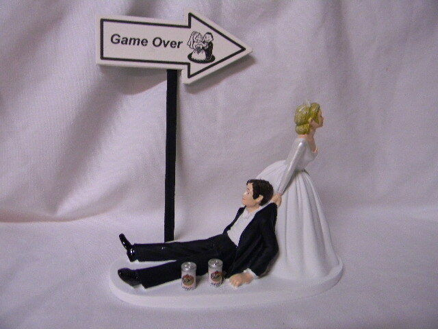 drunk wedding cake toppers uk wedding reception sign cans 13765