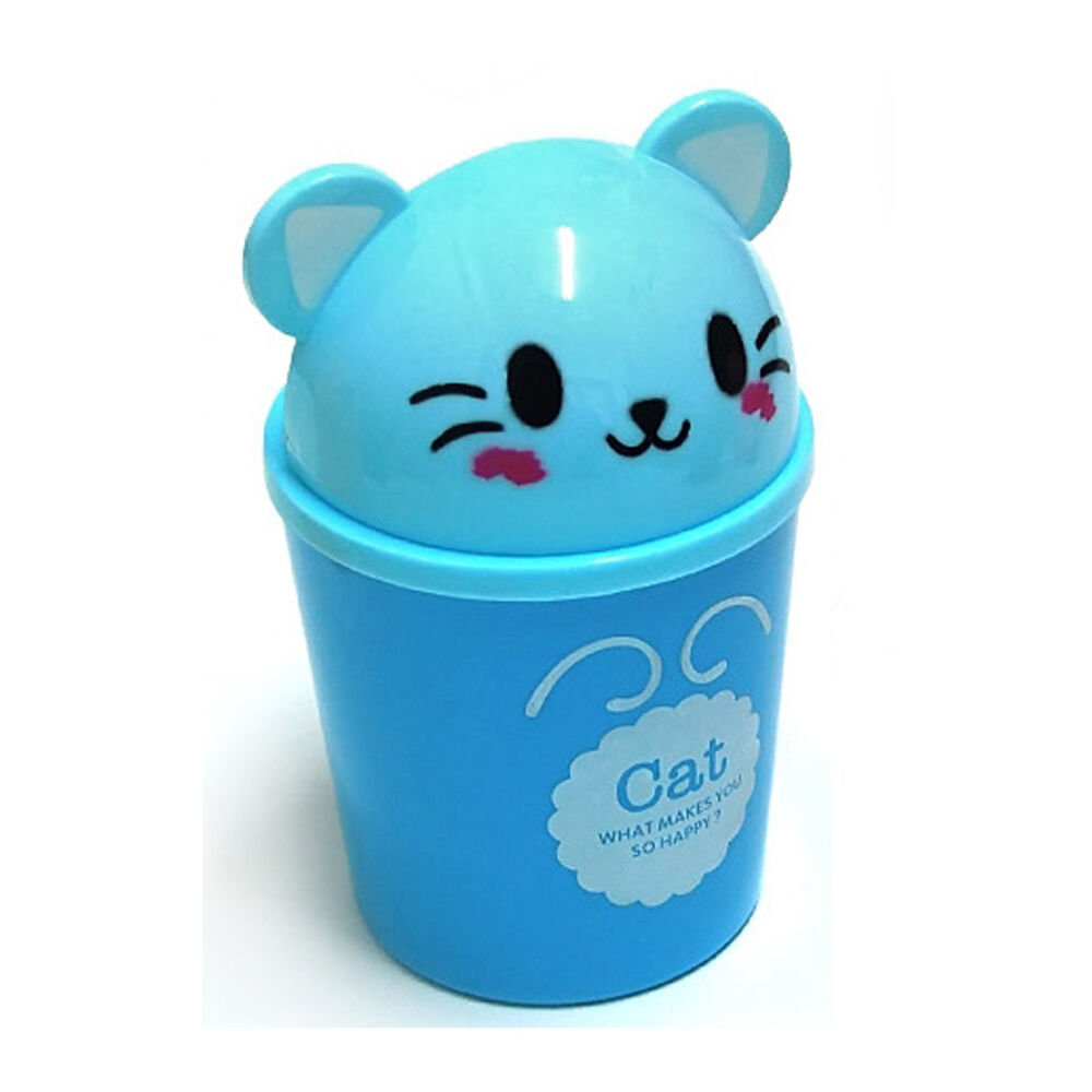 how to draw a cute trash can
