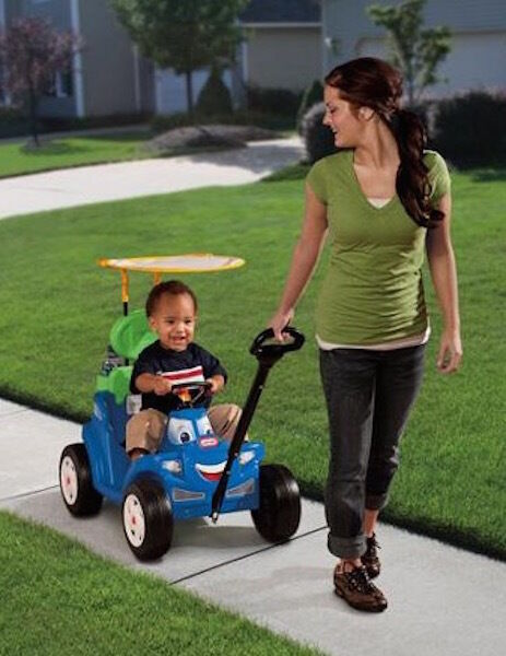 kids wagon toddler push pull stroller toy buggy ride car indoor on play outdoor ebay. Black Bedroom Furniture Sets. Home Design Ideas