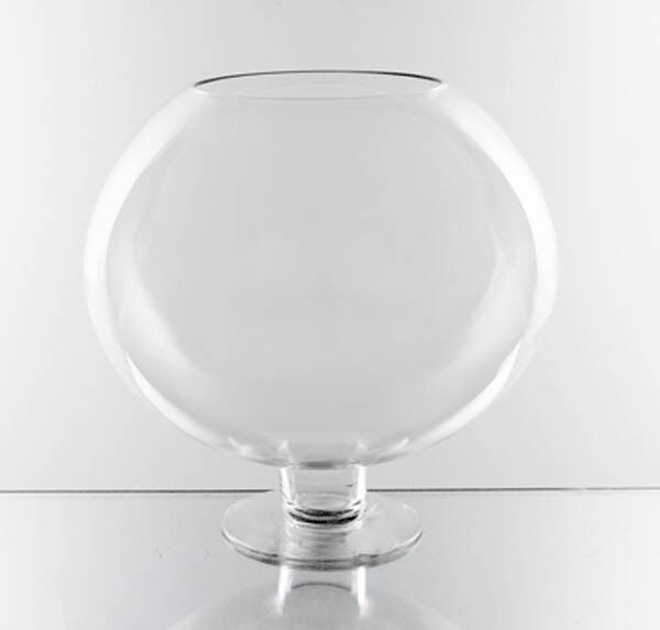 Oversized Large Clear Stem Bowl Glass Vase Centerpiece16