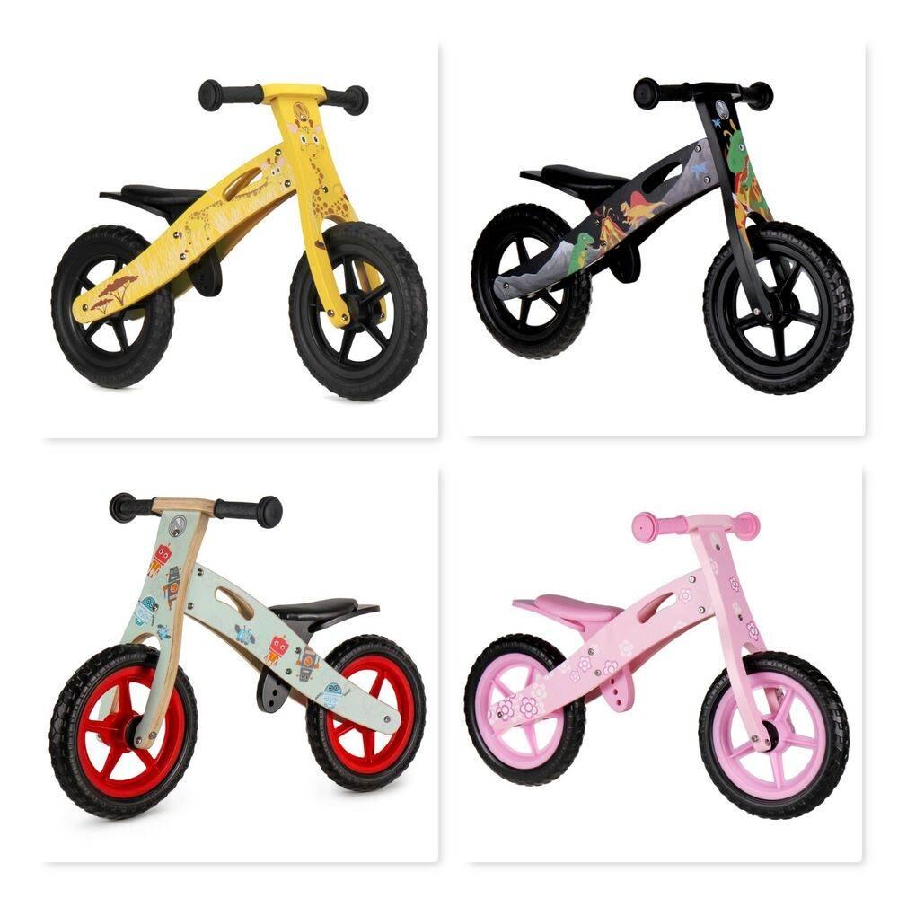 Toys Age 2 5 : Wooden balance running bikes perfect childs present toy