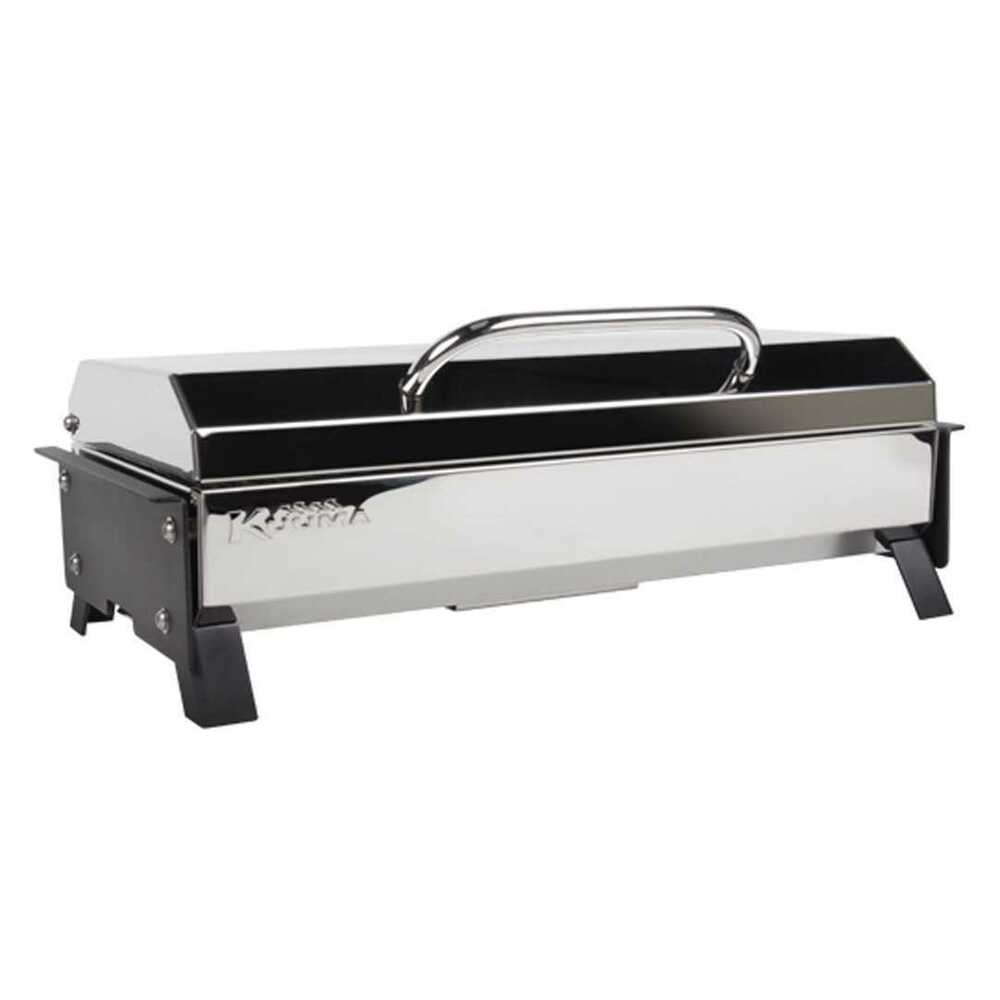kuuma profile 150 barbecue gas grill 58121 stainless steel marine boat rv ebay. Black Bedroom Furniture Sets. Home Design Ideas