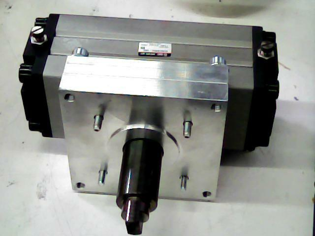 Dual Shaft Hydraulic Motor : Smc pneumatic rotary actuator cylinder double shaft mm