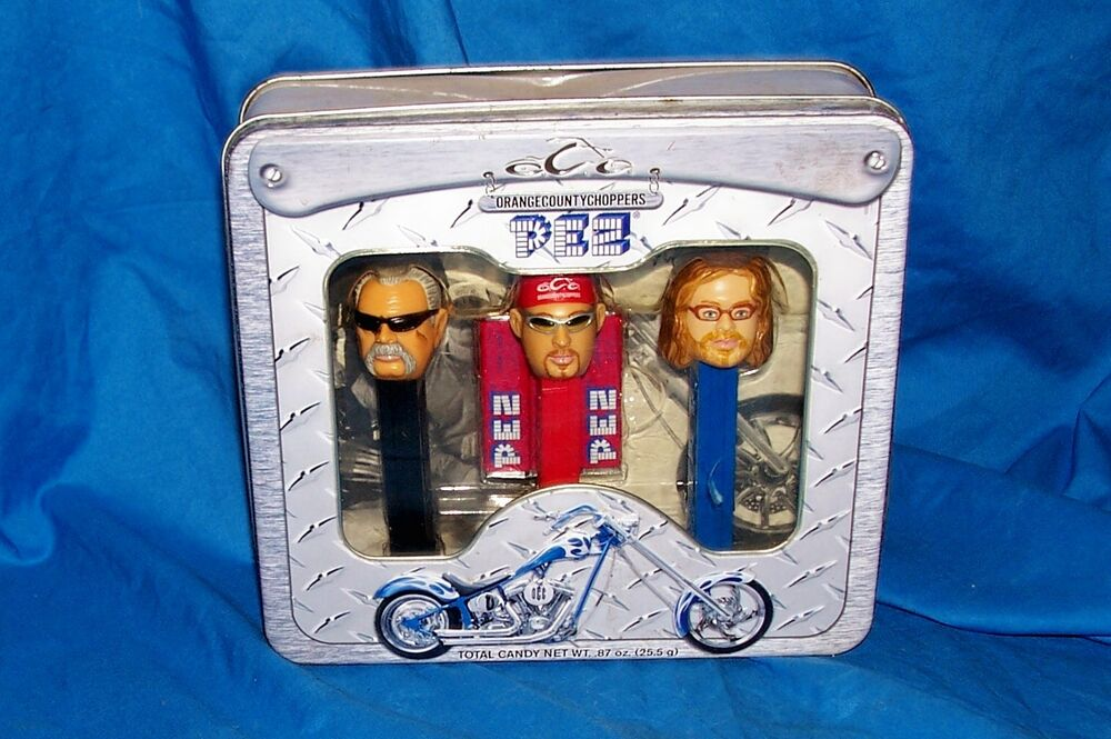Orange County Choppers >> 2006 Pez Orange County Choppers Candy Dispenser Collectors TV Paul Jr. Sr. OCC | eBay
