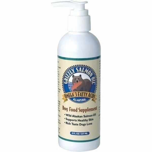 Grizzly Salmon Oil Dog Cat Supplement