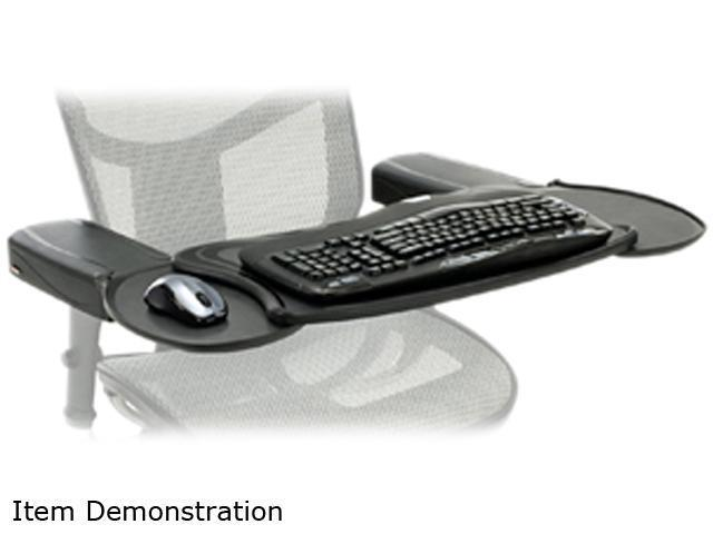 Mobo MECS BLK 001 Chair Mount Ergo Keyboard And Mouse Tray