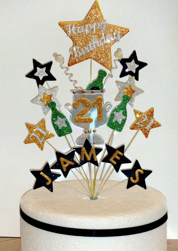 St Birthday Cake Toppers For Her